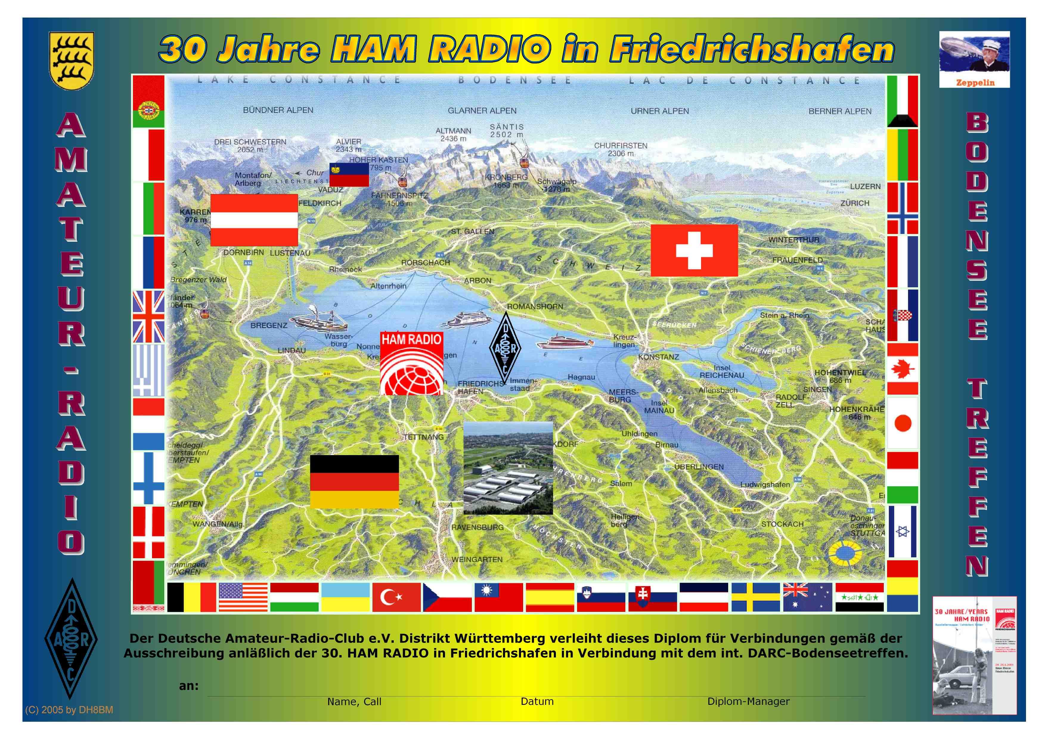 30 Jahre HamRadio Diplom